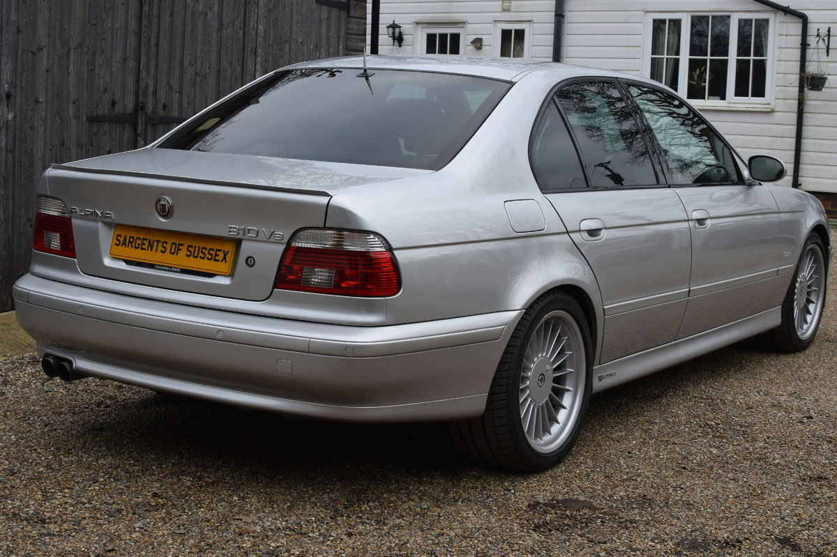BMW Alpina B10 4.6 V8 Switchtronic (£££s spent) 2000 X Reg SOLD (picture 3 of 6)