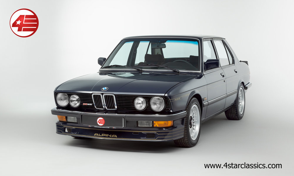 1983 BMW Alpina E28 B9 3.5 /// Manual /// 82k Miles For Sale (picture 1 of 6)