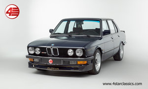 BMW Alpina E28 B9 3.5 /// Manual /// 82k Miles