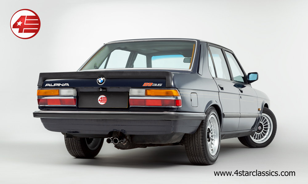 1983 BMW Alpina E28 B9 3.5 /// Manual /// 82k Miles For Sale (picture 3 of 6)