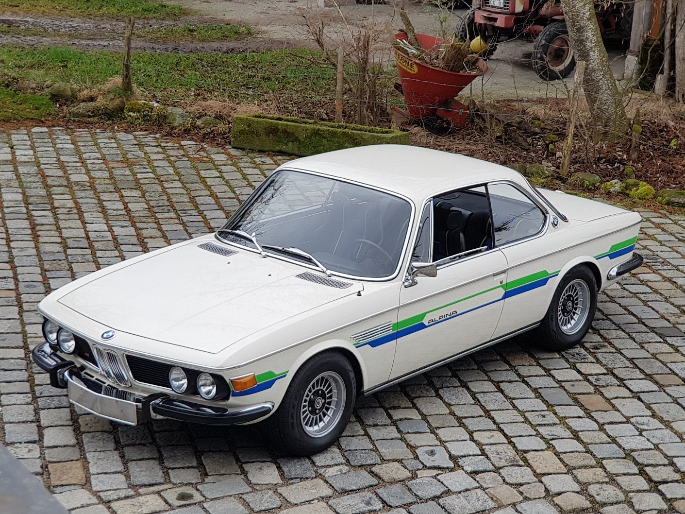 1972 ALPINA B2 3.0 Coupé, 21 years with first owner For Sale (picture 1 of 6)