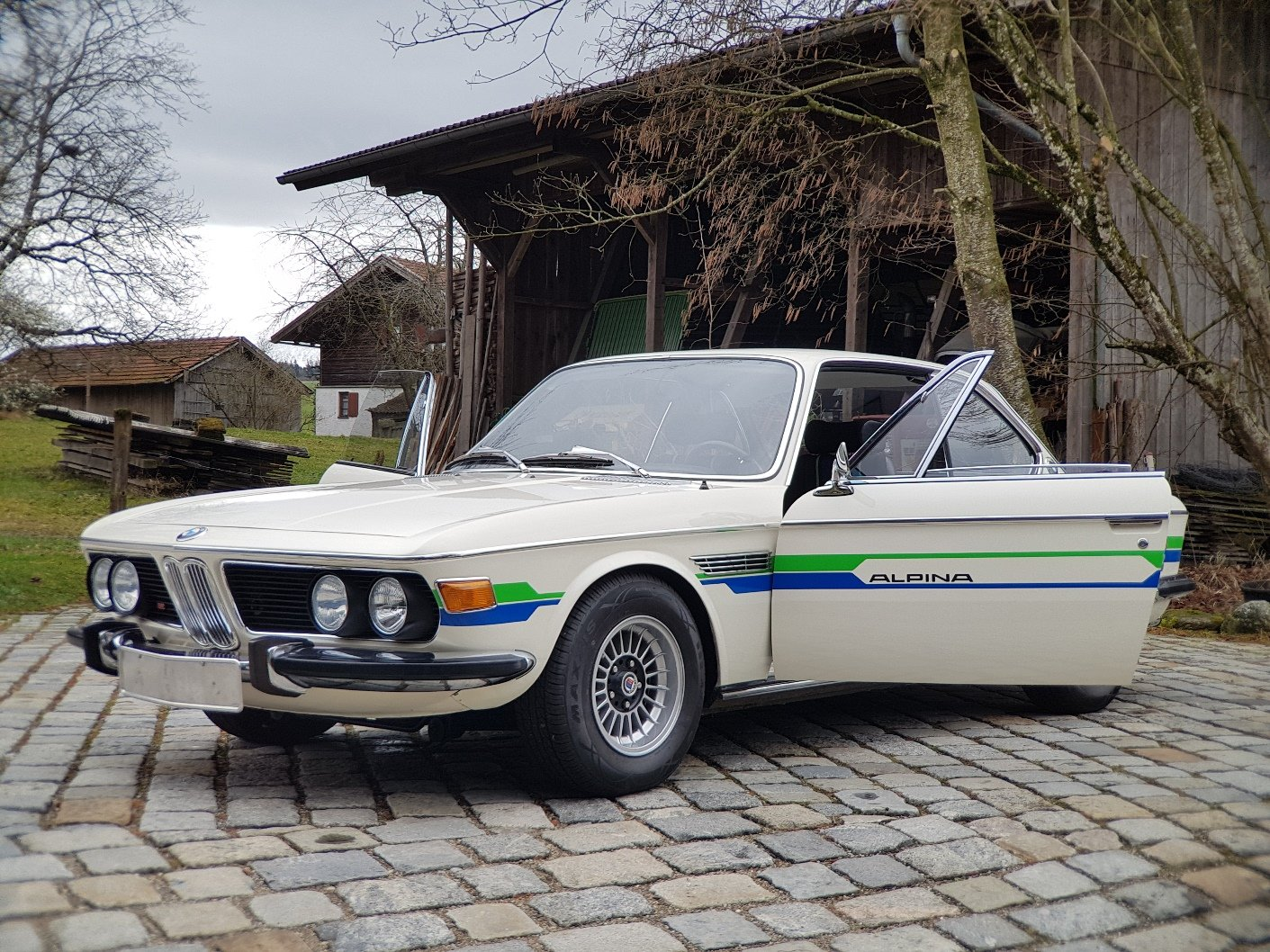 1972 ALPINA B2 3.0 Coupé, 21 years with first owner For Sale (picture 5 of 6)