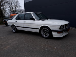 Alpina B9 3.5 alpinweiss (1983) 245 hp 6 cyl E28 manual