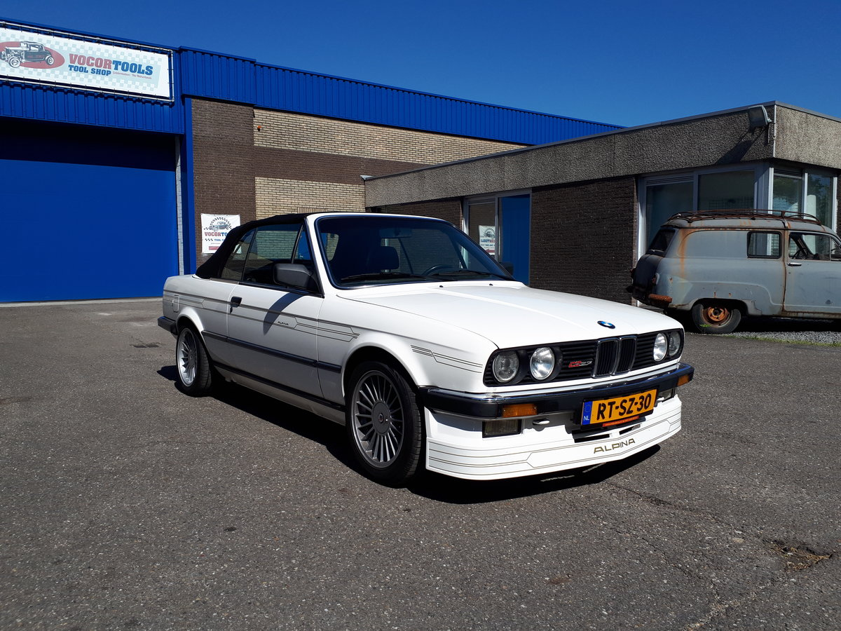 1988 Alpina C2 2,7 Cabrio E30 as new, fully restored 150000 km For Sale (picture 1 of 6)
