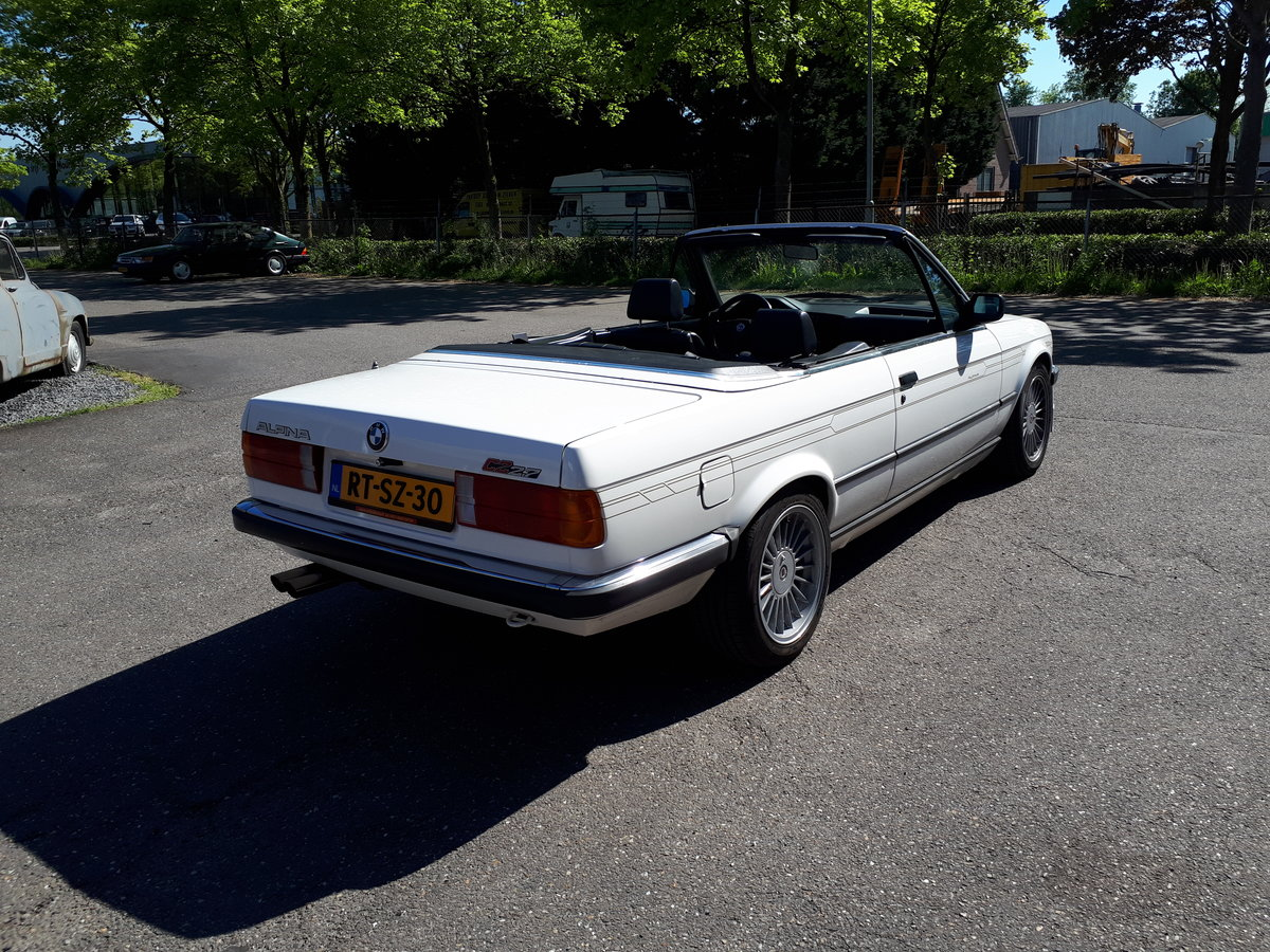 1988 Alpina C2 2,7 Cabrio E30 as new, fully restored 150000 km For Sale (picture 3 of 6)