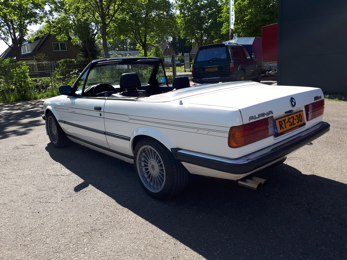 1988 Alpina C2 2,7 Cabrio E30 as new, fully restored 150000 km For Sale (picture 4 of 6)