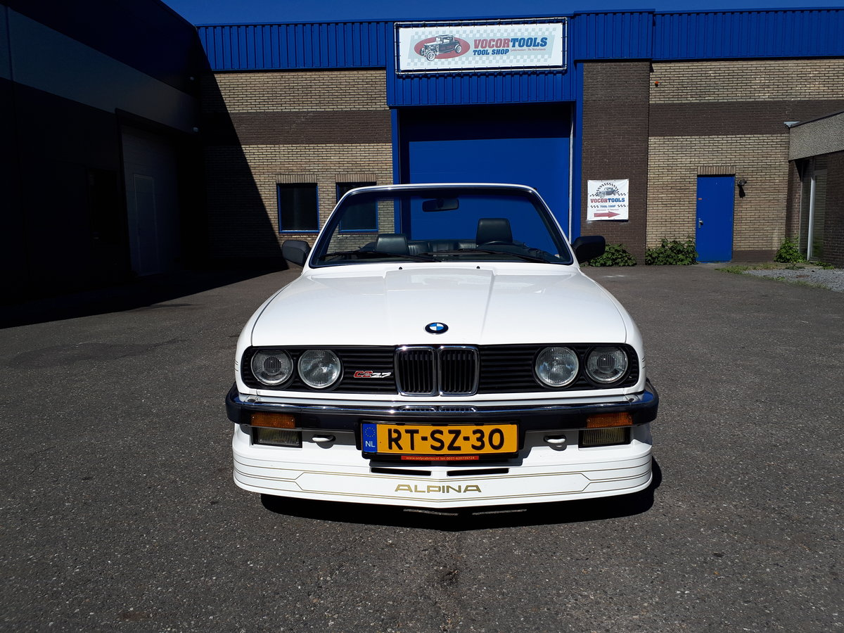 1988 Alpina C2 2,7 Cabrio E30 as new, fully restored 150000 km For Sale (picture 5 of 6)