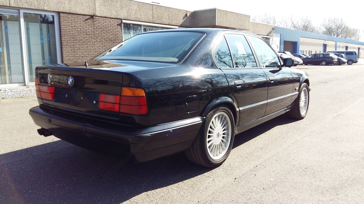 Alpina B10 3,0 four wheel drive 1994 black manual gear For Sale (picture 4 of 6)