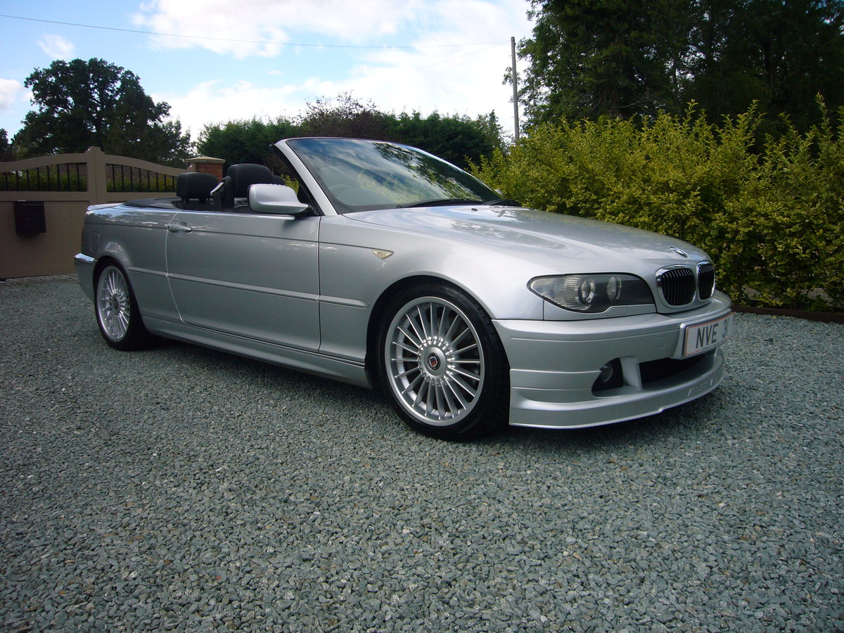 2004 BMW ALPINA B3s CONVERTIBLE, For Sale (picture 1 of 6)