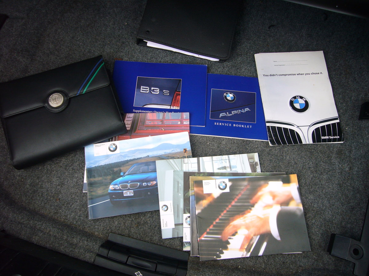 2004 BMW ALPINA B3s CONVERTIBLE, For Sale (picture 6 of 6)