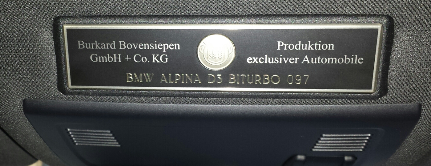 2010 BMW Alpina D3 Bi-Turbo For Sale (picture 4 of 5)