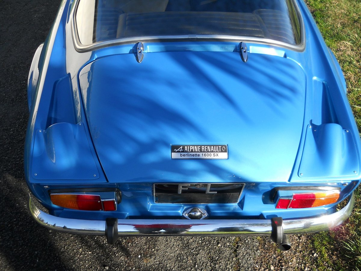 1976 Alpine A 110 1600 SX For Sale (picture 4 of 4)