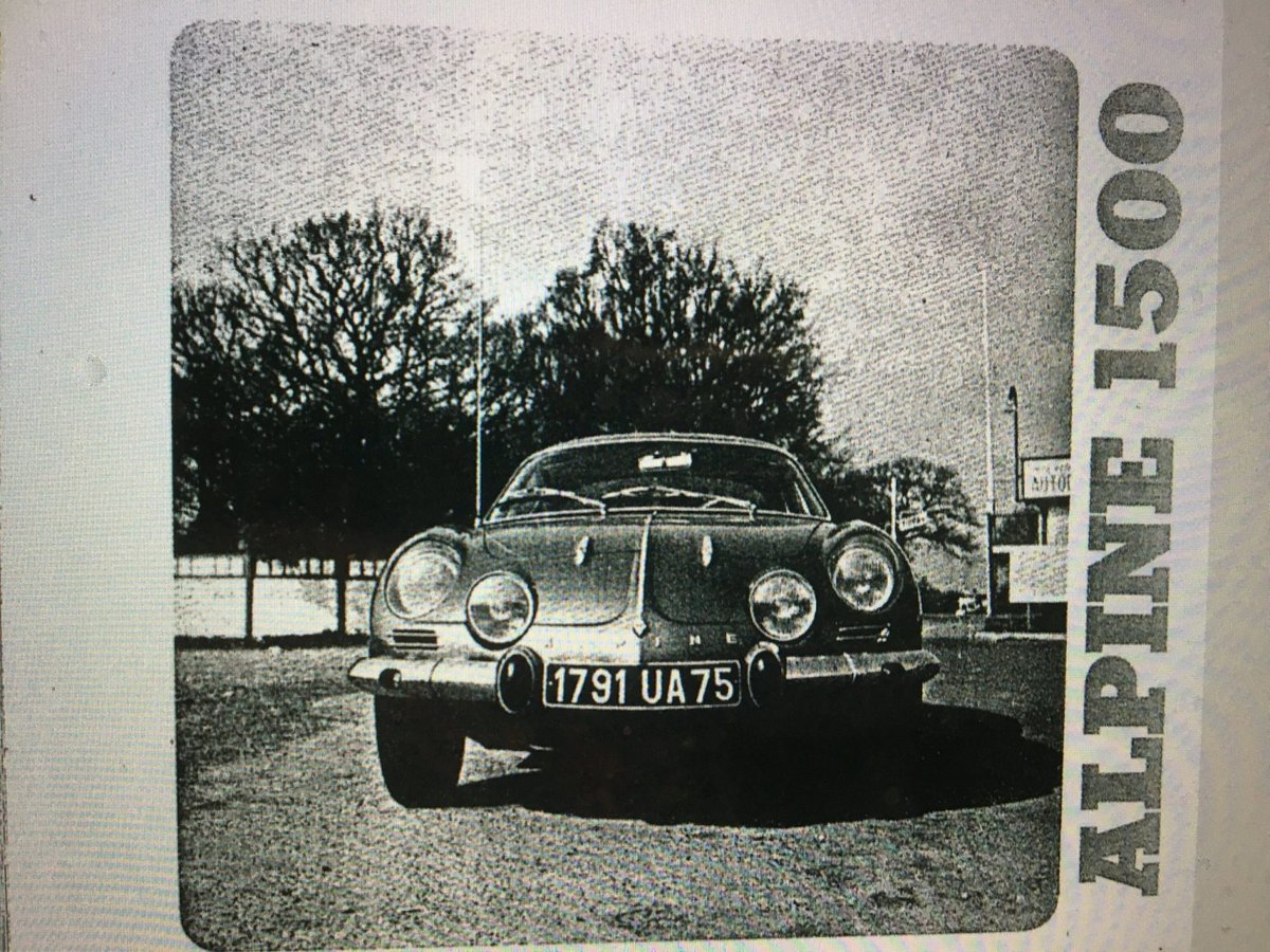 1967 Alpine A 110 For Sale (picture 5 of 6)