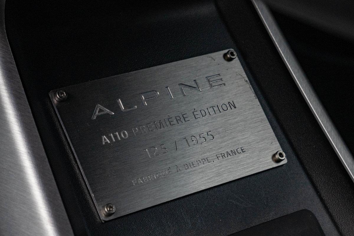 2018 Alpine A110S Premiere Edition - 2,500 miles - Pre-WLTP SOLD (picture 5 of 6)