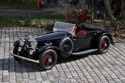 1934 Alvis Speed 20 SB Cross & Ellis Tourer For Sale (picture 1 of 6)
