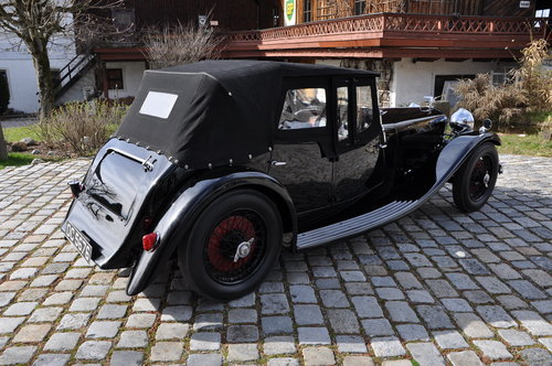 1934 Alvis Speed 20 SB Cross & Ellis Tourer For Sale (picture 4 of 6)