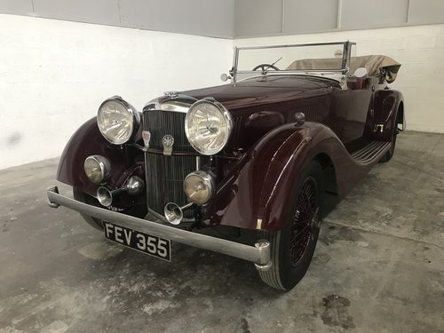 Alvis 4.3 Model 1937 Chassis No: 14307 For Sale (picture 1 of 6)