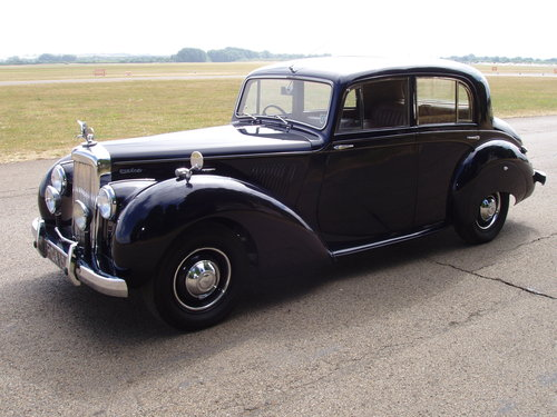 "1955 Alvis TC21/100 ""Grey Lady"" Saloon For Sale (picture 1 of 6)"