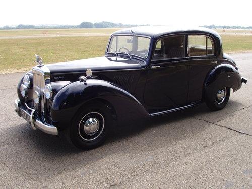 1955 Alvis TC21/100