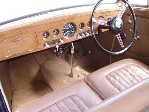 "1955 Alvis TC21/100 ""Grey Lady"" Saloon For Sale (picture 3 of 6)"