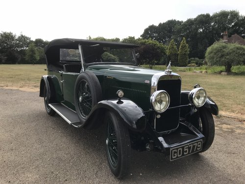 1931 Alvis 12/60 TJ Four Seat Tourer - Exceptional example. SOLD (picture 1 of 6)