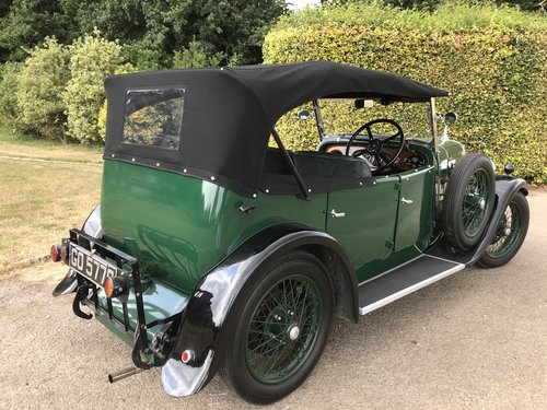1931 Alvis 12/60 TJ Four Seat Tourer - Exceptional example. SOLD (picture 2 of 6)