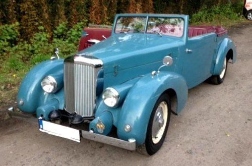 1946 Beautiful very rare Alvis convertible. For Sale (picture 1 of 6)