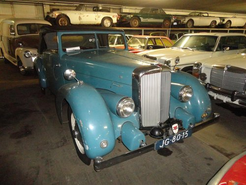 1946 Beautiful very rare Alvis convertible. For Sale (picture 2 of 6)