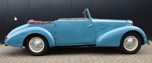 1946 Beautiful very rare Alvis convertible. For Sale (picture 3 of 6)