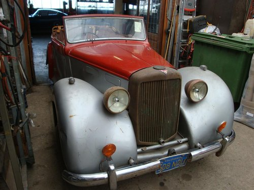 1946 Beautiful very rare Alvis convertible. For Sale (picture 6 of 6)