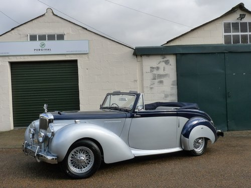 1954 Alvis TC21/100 Drophead, Sold SOLD (picture 1 of 6)