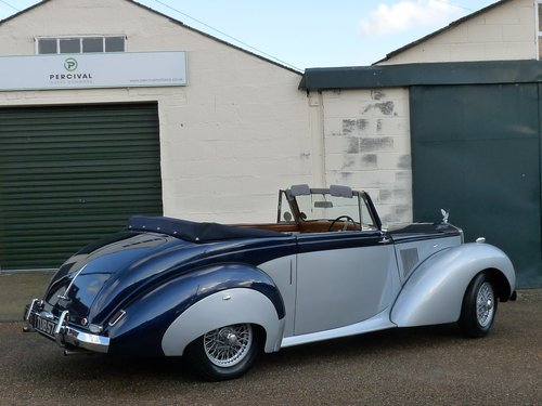 1954 Alvis TC21/100 Drophead, Sold SOLD (picture 2 of 6)