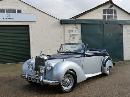 1954 Alvis TC21/100 Drophead, Sold SOLD (picture 6 of 6)