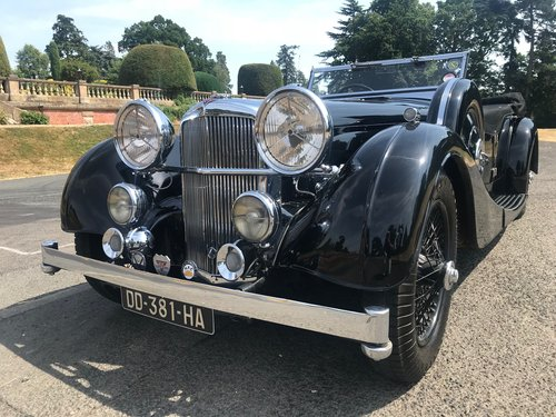 1936 ALVIS Speed 25 Cross and Ellis Tourer 3.5 SOLD (picture 1 of 6)