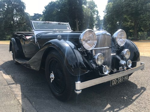 1936 ALVIS Speed 25 Cross and Ellis Tourer 3.5 SOLD (picture 2 of 6)