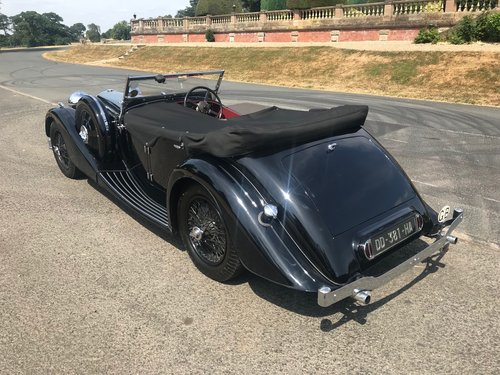 1936 ALVIS Speed 25 Cross and Ellis Tourer 3.5 SOLD (picture 3 of 6)
