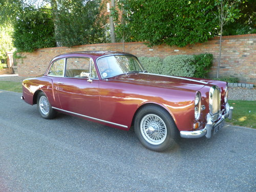 1966 ALVIS TF21 SALOON SOLD (picture 1 of 6)