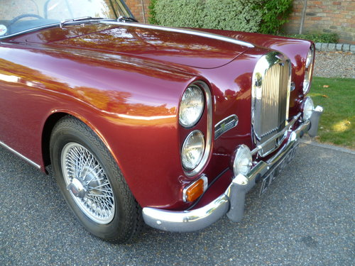 1966 ALVIS TF21 SALOON SOLD (picture 2 of 6)