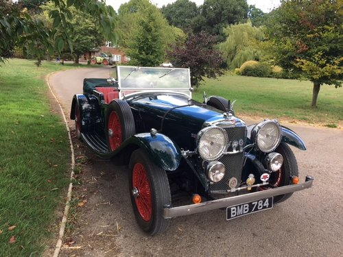 1935 Alvis Speed 20 SC Tourer  SOLD (picture 1 of 6)