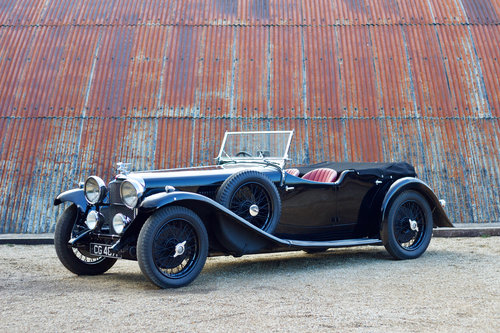 1933 ALVIS SPEED 20 SA CROSS & ELLIS LONG WING TOURER SOLD (picture 1 of 6)