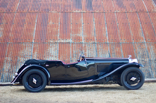 1933 ALVIS SPEED 20 SA CROSS & ELLIS LONG WING TOURER For Sale (picture 2 of 6)