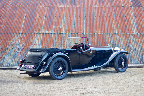 1933 ALVIS SPEED 20 SA CROSS & ELLIS LONG WING TOURER For Sale (picture 3 of 6)