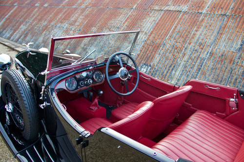 1933 ALVIS SPEED 20 SA CROSS & ELLIS LONG WING TOURER SOLD (picture 5 of 6)