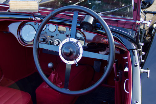 1933 ALVIS SPEED 20 SA CROSS & ELLIS LONG WING TOURER For Sale (picture 6 of 6)