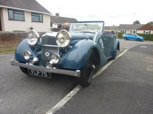 1937 Alvis Speed 25 For Sale (picture 1 of 6)