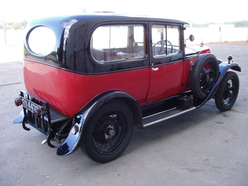 1927 Alvis 12/50 TG Sports saloon For Sale (picture 2 of 6)