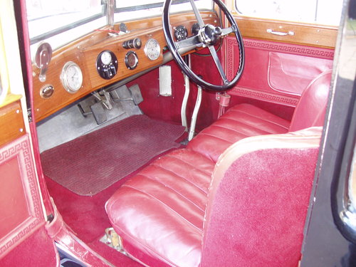 1927 Alvis 12/50 TG Sports saloon For Sale (picture 3 of 6)