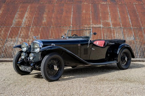 1933 Alvis Speed 20 SA by Vanden Plas For Sale (picture 1 of 6)