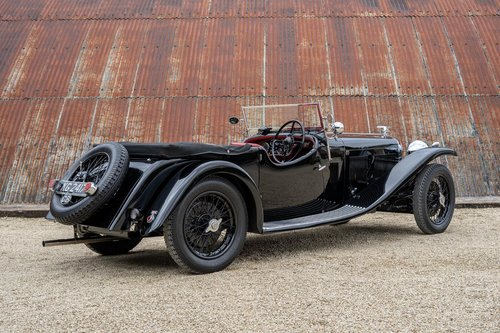 1933 Alvis Speed 20 SA by Vanden Plas For Sale (picture 2 of 6)
