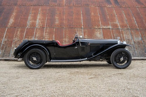 1933 Alvis Speed 20 SA by Vanden Plas For Sale (picture 3 of 6)